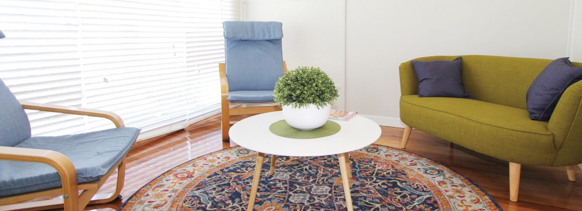 Couples psychotherapy room
