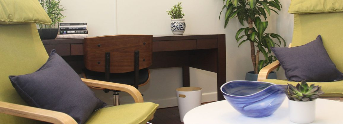 Psychotherapy consultation room